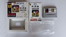 FIFA Internacional Soccer Super Nintendo Snes Juego en Caja Completa