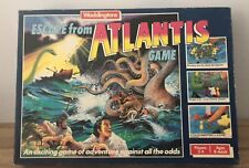 ESCAPE FROM ATLANTIS BOARD GAME by WADDINGTONS * Multi Listing * Choose spares