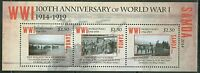 SAMOA  2014 CENTENARY OF WORLD WAR I SHEET  MINT NH
