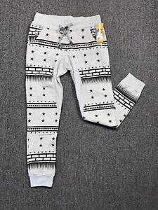 Men's Fleece Shooting Star Super Flex Soft Cotton Blend Modern Hipster Joggers