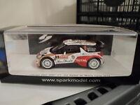 Spark 1:43 Citroen DS3 WRC - Rally Monte Carlo 2014 - Meeke #3
