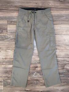 Prana Stretch Zion Pants, Men's Medium x 32, Beige