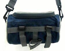 Travel Season Travel Bag Round Navy Blue & Gray
