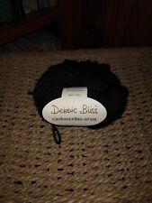 Debbie Bliss Cashmerino Aran Black Color # 300300 Merino Blend 1 Skein