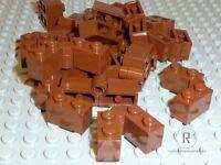 LEGO® 20x Scharnier 3830 3831 rotbraun reddish brown Klappscharnier 1x4 NEUWARE
