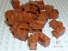 Lego ® 20x bisagra 3830 3831 color marrón-rojizo reddish brown klappscharnier 1x4 Artículo nuevo