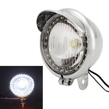 LED Headlight Angel Eye Fit Honda Shadow Spirit Aero Ace VLX VT750 VT1100 Bobber