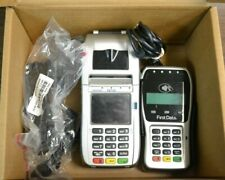 New listing First Data Fd130 Duo & Fd-35 Pin Pad Credit/Debit Card Pos Terminal with Cables