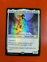 1x Linden, the Steadfast Queen | FOIL | Throne of Eldraine | MTG Magic Cards