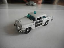 Matchbox 1958 Buick Century Police in White