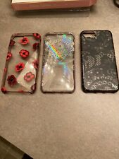 Lot of Three Apple iPhone Cases, all used Kate Spade, Wink