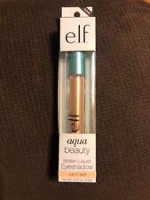 Elf 57032 Aqua Beauty Molten Liquid Eyeshadow Liquid Gold Full Size 0.09 oz (B