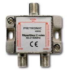Metronic 436302 Répartiteur Blindé 2 sorties