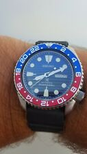 SEIKO 200M MEN'S SCUBA DIVERS AUTOMATIC DATE WATCH 6309-7290. SAVE THE OCEAN/GMT