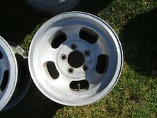 1 14 X 7 Slotted Mag Wheel Old School Slot Vintage 5 X 475 Et Ansen Chevy 14