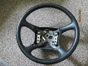 1999 Chevrolet Silverado GMC Sierra BLACK Leather Steering Wheel  OEM