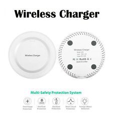 White Qi Wireless Battery Charger Charging Pad for SONY Xperia XZ2 Mobile Phone