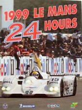 1999 LE MANS 24 HOURS LIVRE OFFICIEL EN ANGLAIS