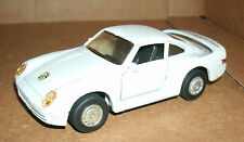 1/36 Scale Porsche 959 Diecast Model - Vintage 1990's MC Toys Sports Car Vehicle