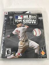 MLB 09: THE SHOW PLAYSTATION 3 PS3 Complete CIB w/ Box, Manual FREE FAST SHIP!!!