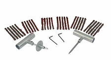 ABN® Car Motorcycle Tire Repair Kit – Tire Plug 34-Piece Tubeless Tire Patch Kit