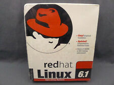 Red Hat Linux 6.1 Software New Old Stock Factory Sealed