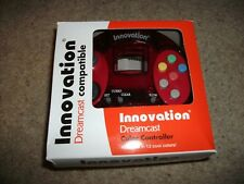 INNOVATION - DREAMCAST CONTROLLER - Transparent RED -  BRAND NEW! Boxed