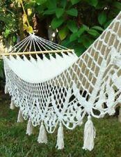 New* Crochet Luxury Hammock Wedding* Bohemian* Garden* Victorian*