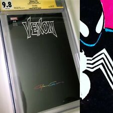 Venom 25 CGC SS 9.8 Clayton Crain Infinity Signature Black READY FOR SKETCH