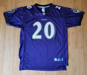 Baltimore Ravens Ed Reed Jersey Reebok Youth XL Purple NFL