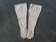 "North Shoulder Length 32"" Butyl 30 Mil Chemical Dry Box Gauntlet Gloves sz9 3/4"