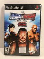 WWE SmackDown vs. Raw 2008 Featuring ECW (Sony PlayStation 2, 2007)