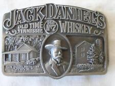 JACK DANIELS VINTAGE 1989 OLD TIME TENN. WHISKEY LEM MOTLOW BELT BUCKLE