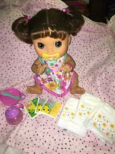 Baby Alive Real Surprises brunette doll. English Spanish 2013