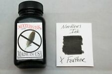 NOODLERS FOUNTAIN PEN INK 3 OZ BOTTLE X FEATHER