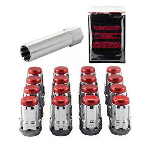 McGard 65454RC Red M12x1.25  Wheel Installation Kit