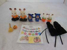 Calico Critters Halloween Lot