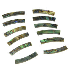 Ukulele Rosette Paua Abalone Shell Curved Strips Sound Hole Inlay 65x3mm