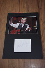EAGLES Don Henley signed Autogramm in 20x30 cm Passepartout InPerson LOOK