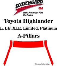 3M Scotchgard Paint Protection Film Pro Series Clear 2020 2021 Toyota Highlander
