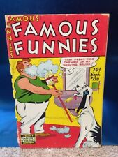 Famous Funnies #170 Eastern Color 1948 Golden Age Comic Book Buck Rogers