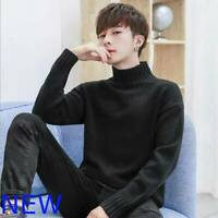 Jumper Knitwear Tops Pullover Sweater Knit Shirt Casual T-Shirt Knitted Mens