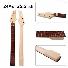 Maple Guitar Neck 24 fret 25.5inch Fit Ibanez Electric Guitar Neck #IB1