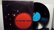 """Bessie Ann Watkins """"The Preachin' Woman"""" vinyl LP Funk Soul Poetry in shrink"""