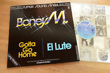 BONEY M. Gotta Go Home CLEAR VINYL Super Sound Single LP Hansa nm/mint
