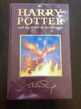 1st Edition Deluxe UK Ed.bloomsbury Harry Potter Order of The Phoenix **