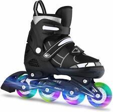 Adjustable Inline Skates Roller Blades Adult or Kid Breathable Outdoor Sport !