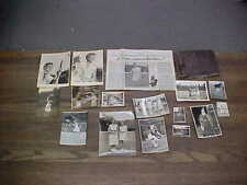 Named Orig Tennis Real Photos & Medals French Open Champion Nelly Adamsen 1948