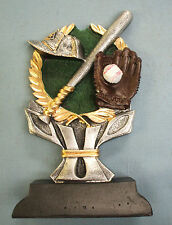 color Baseball statue trophy resin Ric860