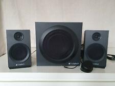 Logitech Z333 40W 2.1 Multimedia Lautsprechersystem mit Subwoofer - Schwarz